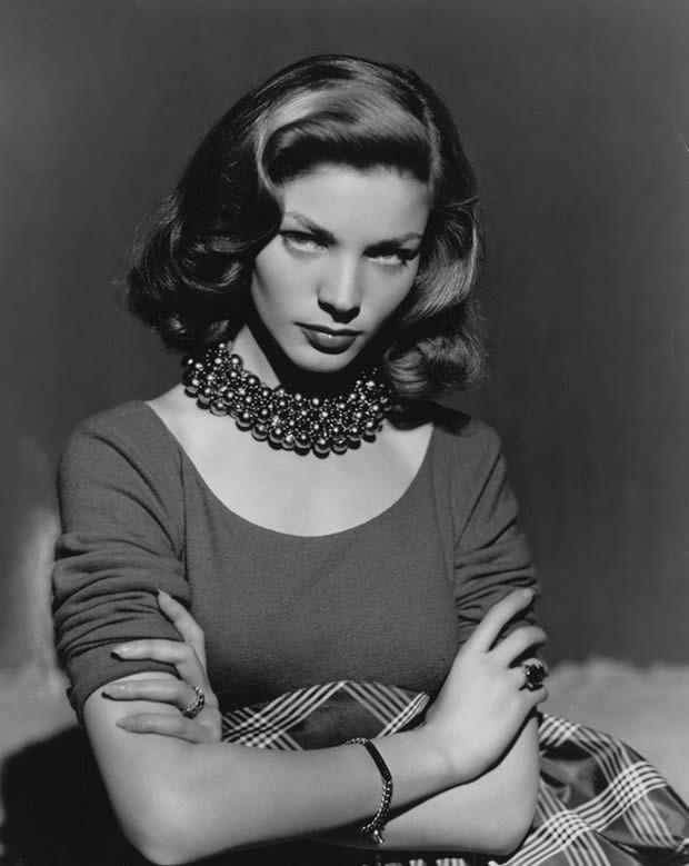 As 10 atrizes mais bonitas de todos os tempos – Lauren Bacall | Revista Bula