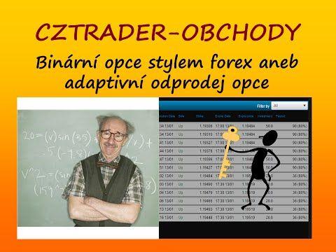 Binární opce stylem forex - CZTRADER - BINÁRNÍ OPCE