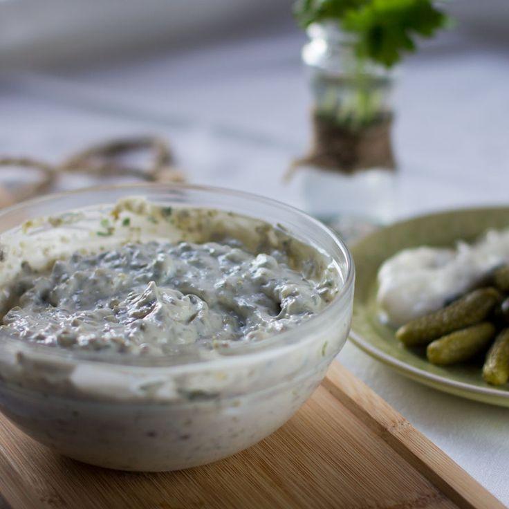 Salsa tartara, receta francesa Thermomix