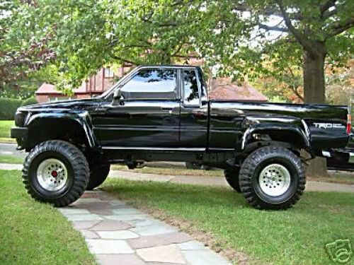 toyota hilux xtra cab 4x4 1985 back to the future. Black Bedroom Furniture Sets. Home Design Ideas