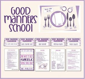 Activity Day Ideas: Activity Days Good Manners School - Serving Others