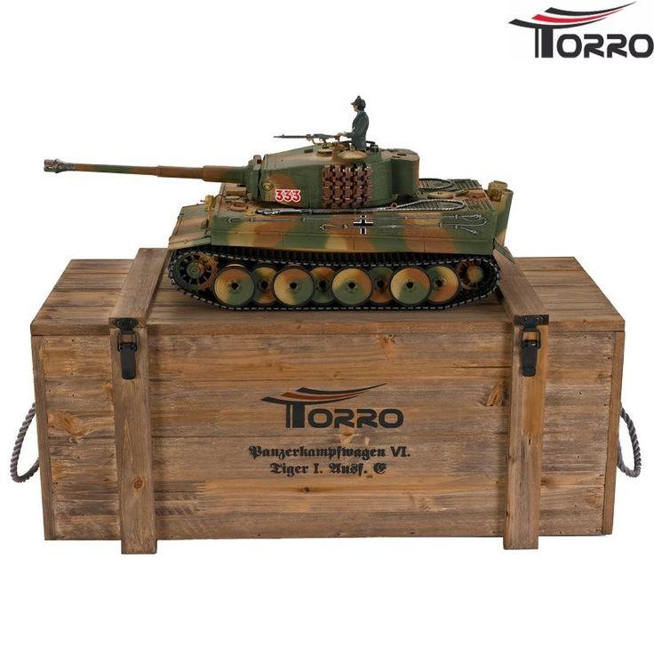 Tiger I. mittle version Pro-Edition BB - RC Kampvogn