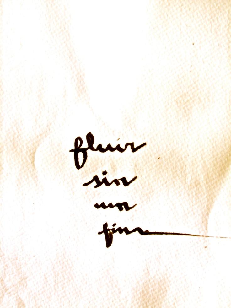 fluir fluir sin un fin, más que fluir...    mA.