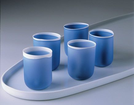 Studio Pieter Stockmans - Belgian ceramic designer, Stockmans porselein, studio collection by designer Piet Stockmans - Genk -Belgium - designer porcelain - art porcelain - Stockmans blauw