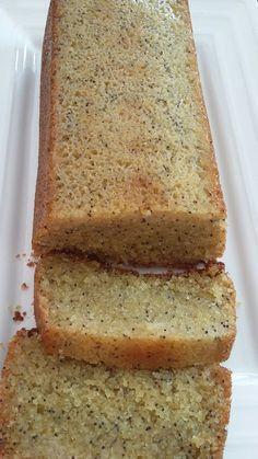 Cake gingembre citron pavot