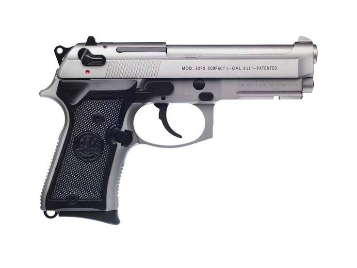 Right side view: Beretta 92FS Compact L Inox