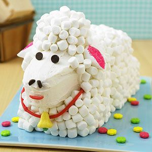 Lovable Lamb.: Easter Cakes, Sheep Cakes, Lamb Cakes, Cakes Decor, Baking, Kid, Baby Shower, Easter Ideas, Birthday Cakes