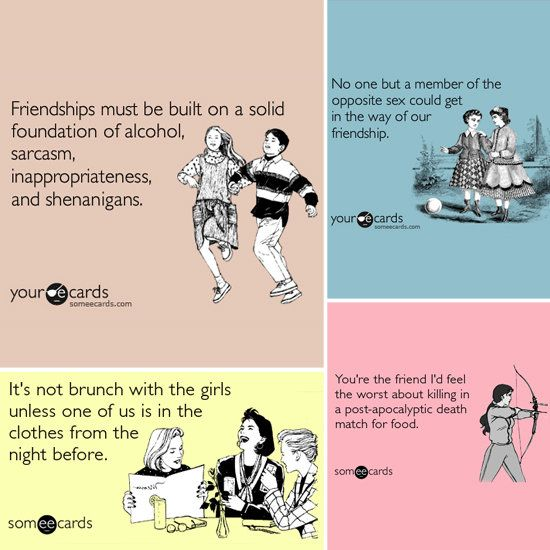Funny Friendship Quotes | Funny Friendship Someecards ...