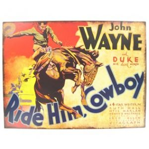 Open Road Acura Wayne on The Duke  This John Wayne Tin Sign Is Perfect For Fans Of       Weste