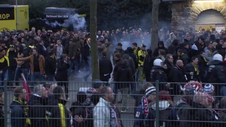 """BVB-Sportdirektor Michael Zorc spricht von einer """"neuen Stufe der Eskalation"""", Augenzeugen schildern die Attacken rund um das Spiel von Borussia Dortmund gegen RB Leipzig. Droht dem BVB eine Strafe? Der DFB-Kontrollausschuss nimmt Ermittlungen auf."""