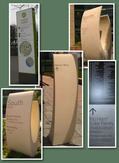 Seattle Monument Sign Manufacturer: Trade-Marx Sign & Display Corporation
