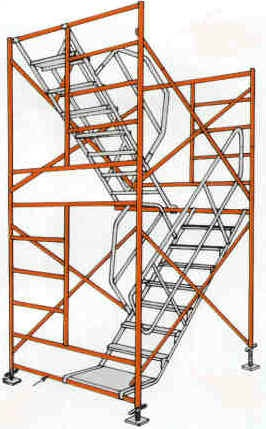 Scaffold Sales on-line Stair kits for scaffold towers
