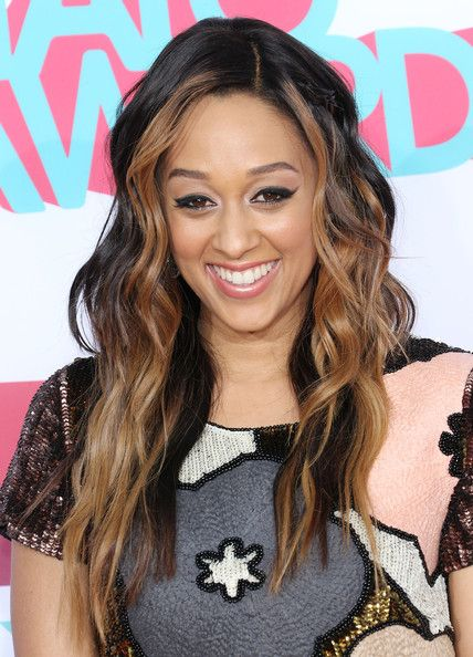 Actress Tia Mowry-Hardrict attends the 2013 HALO Awards at the Hollywood Palladium on November 17, 2013 in Hollywood, California.