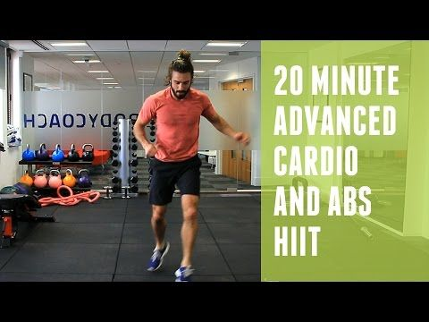 20 minute workout - cardio and abs HIIT - The Running Bug