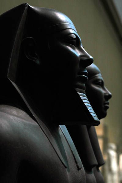 Reign of Menkaure (c.2551-2523 BC, 4th Dynasty) from Giza, Menkaure Valley .detail Temple Boston by www.ancient-egypt...