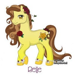 My Little Pony: Belle by Morgwaine