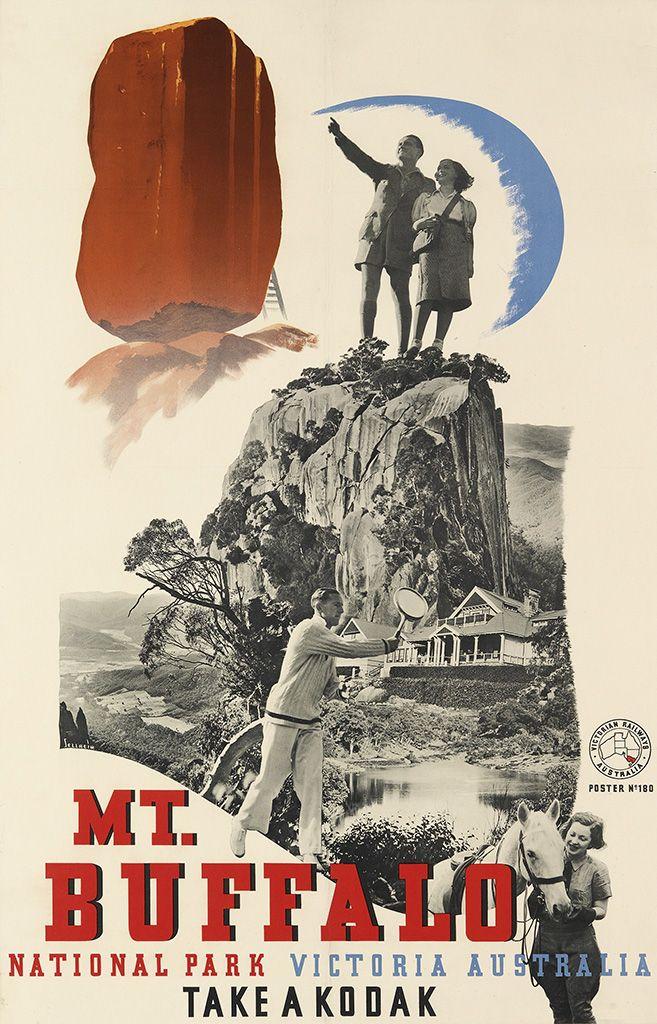 Mt Buffalo - Victoria, Australia - 1939 - (Gert Sellheim) -