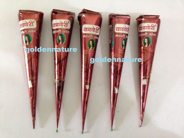 60x henna cone new Natural paste tattoo mehndi henna tubes body art temporary  #KAVERI