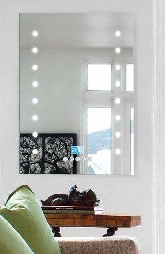 espejos de bao multimedia con luz led puntos