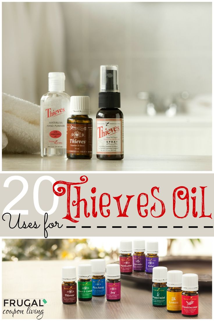 20 Uses for Thieves Oil - Love Essential Oils, Find out How you can use Thieves in Your Home!