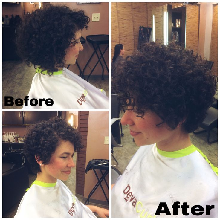 Curly Pixie Haircut Transformation By Whitneycoburn