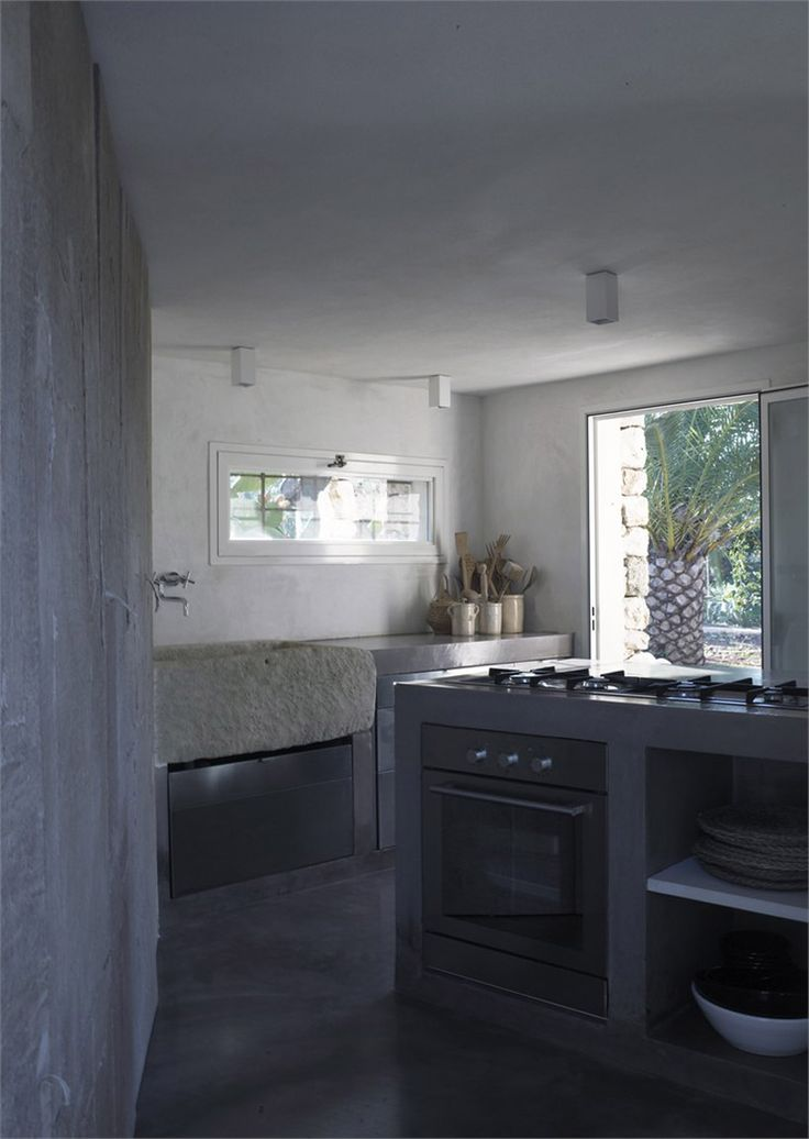 Look at this wonderful kitchen.  countryside home in salento' by luca zanaroli, morciano di leuca, italy