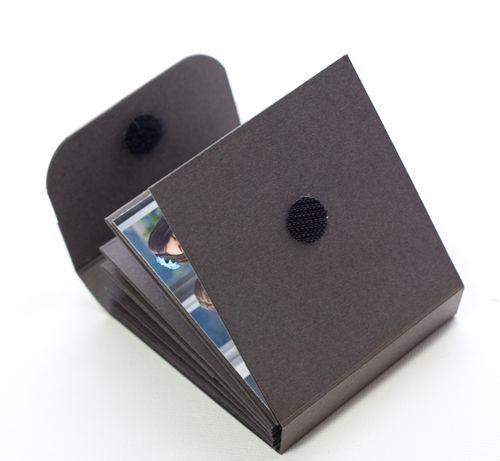 Tutorial for mini fold book.