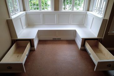 Sellwood Banquette - traditional - dining room - portland - Paul Johnson Carpentry & Remodeling