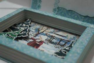 Elena Gudi leather and textile bags: Новогодняя открытка-книга