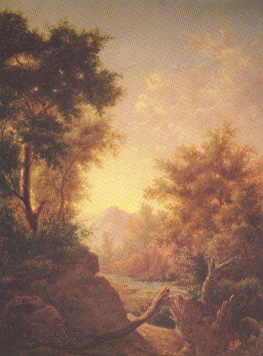 PAISAJE, Oleo sobre Tela 42 x 35 cm Museo Nacional de Bellas Artes