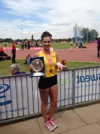 Athletics: Sutton & District AC star Ive is focussed on pole vault glory once more