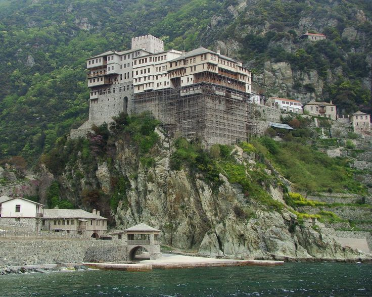 We ❤ Greece   The Holy Monastery of Dionysiou #MountAthos #monasteries #explore