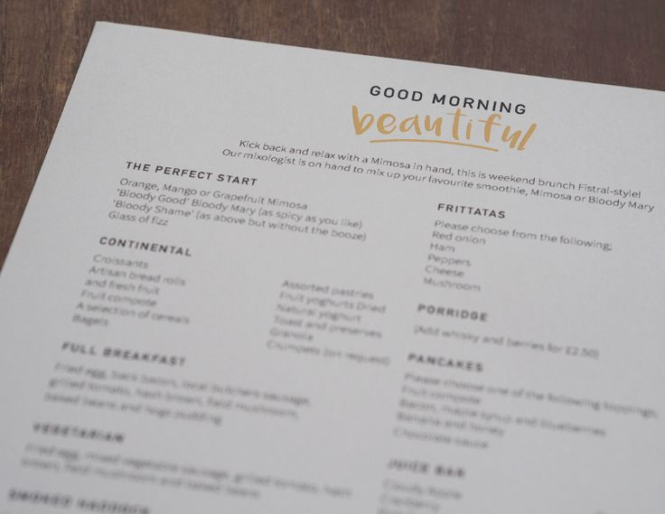 Breakfast at Fistral Beach Hotel & Spa