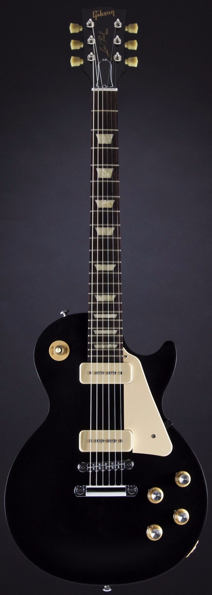 Gibson Les Paul 60s Tribute in Satin Ebony (2016)