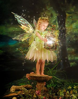 Sweet fairy: Oh, to believe, once again, in the childhood dreams of once upon a time, the magical land of fairies and all good things...where fairy tales came true ...