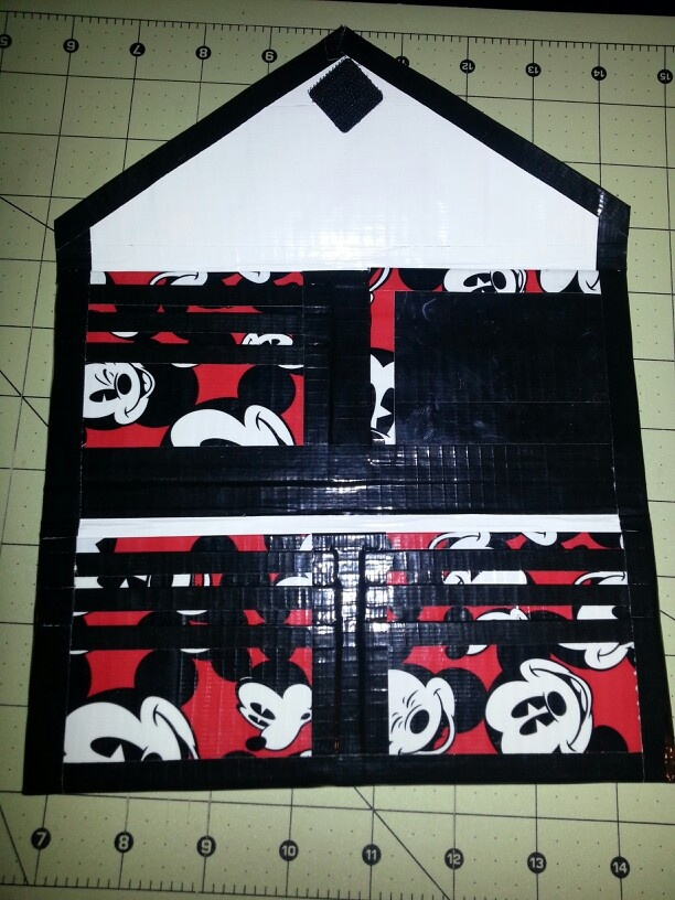 Duct tape Women's wallet check them out on Instagram @designs_by_sarah