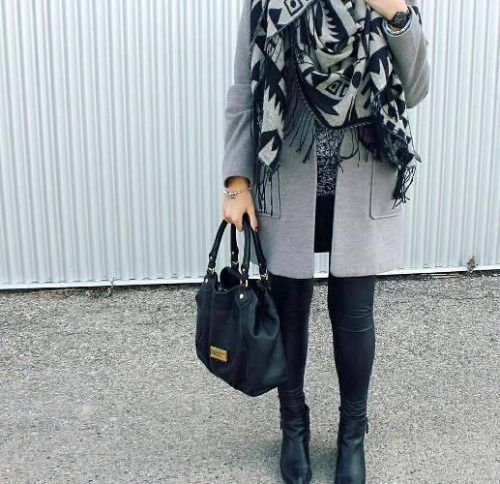 New winter hijab fashion looks – Just Trendy Girls