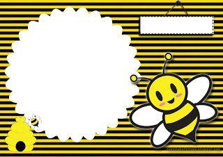 convite aniversário abelhinha imprimir grátis
