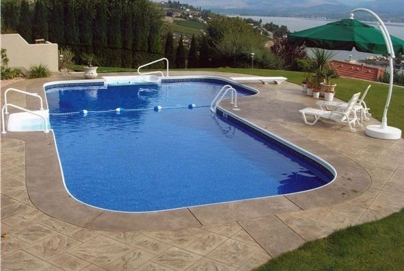 21 best outdoor living images on pinterest decks for Local swimming pool companies
