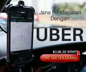 Jana pendapatan sampingan dengan UBER. Daftar Percuma Sekarang.