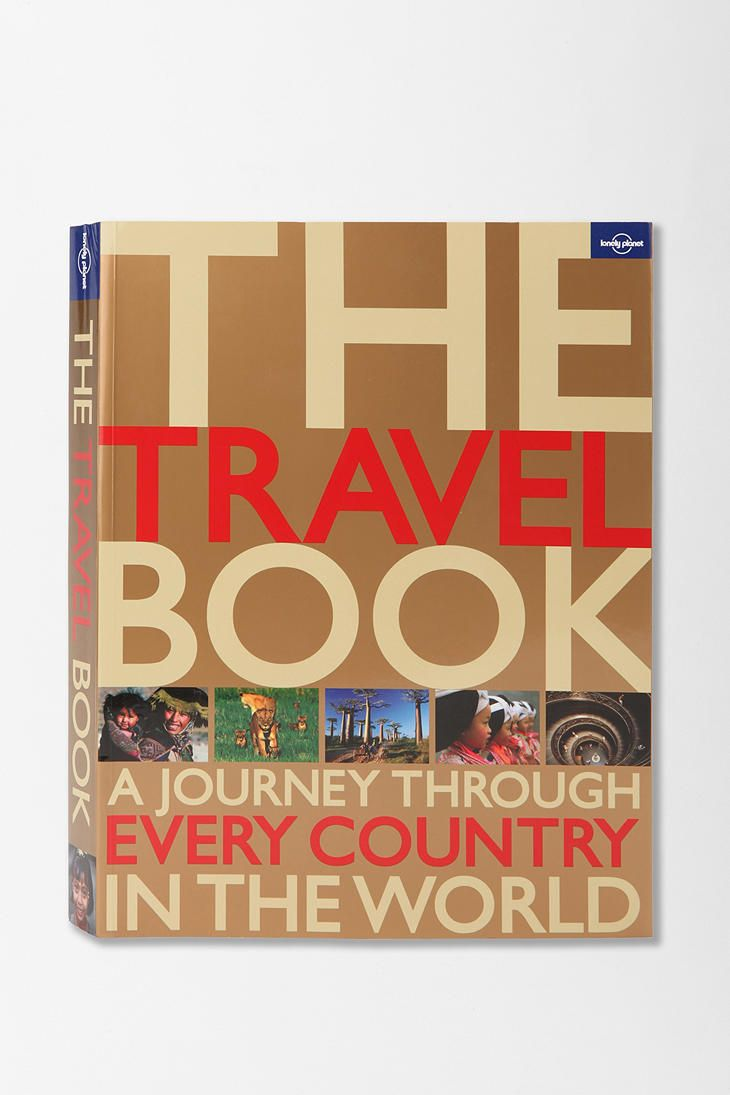 The Travel Book By Lonely Planet - Urban Outfitters