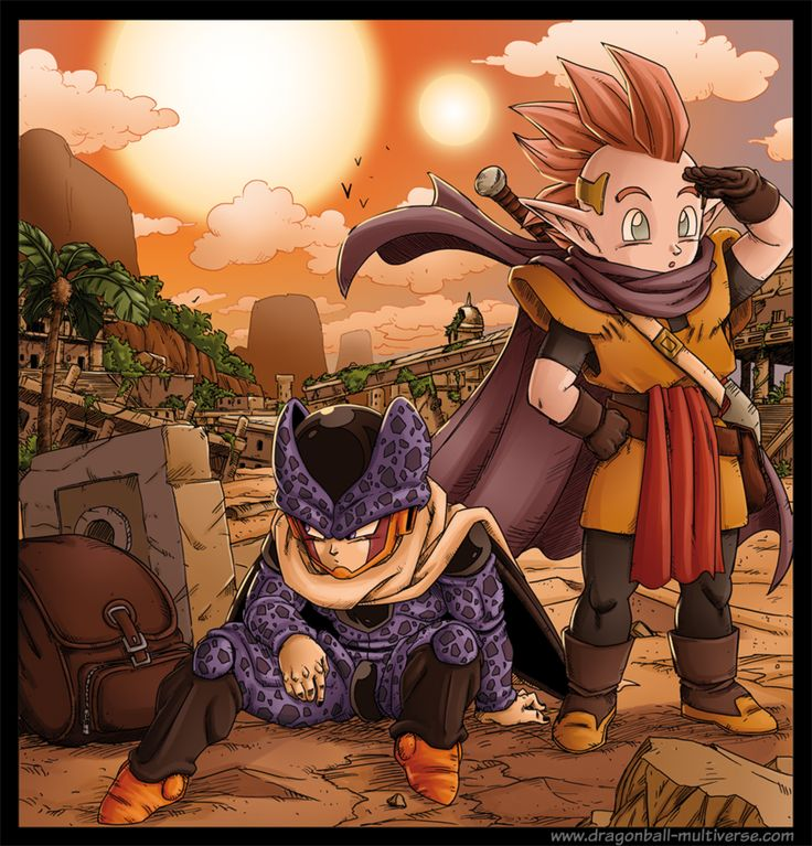 DBM chap 49: Cell Jr and Minosha by Fayeuh.deviantart.com on @DeviantArt