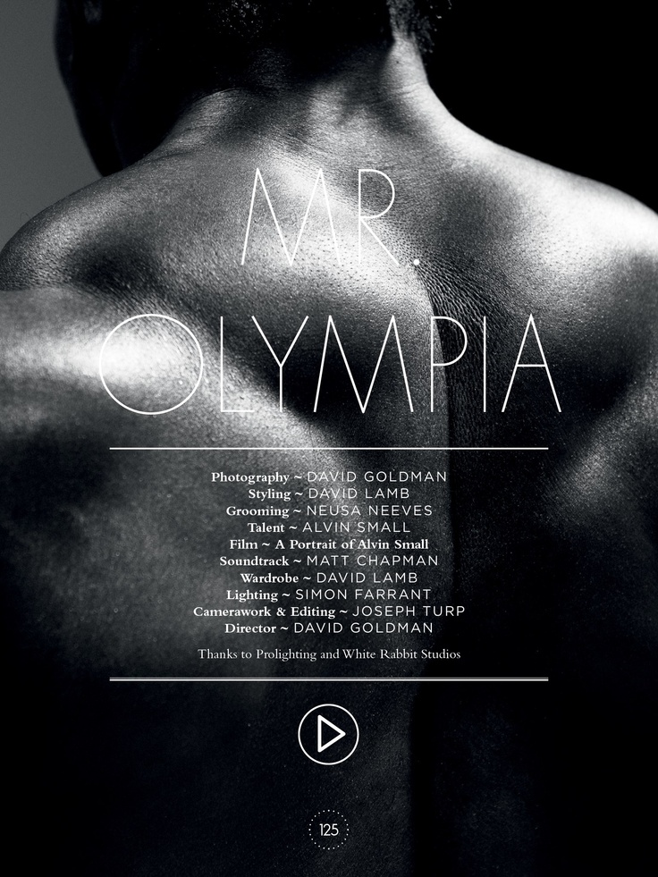 125 magazine.editorial: physical