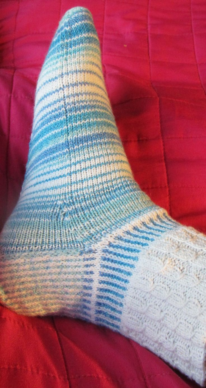 Knitting Socks Online Supersocke Cotton Stretch