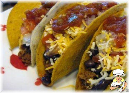 Siyah Fasulyeli ve Kıymalı Taco - lezzetler.com Yemek Tarifleri