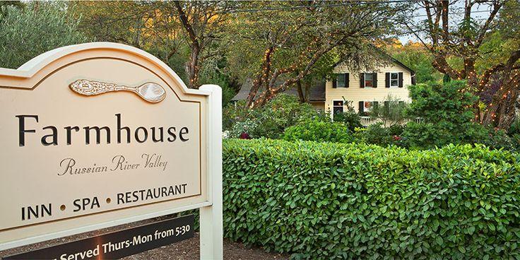 Farmhouse Inn & Restaurant Forestville, CA WineCountry