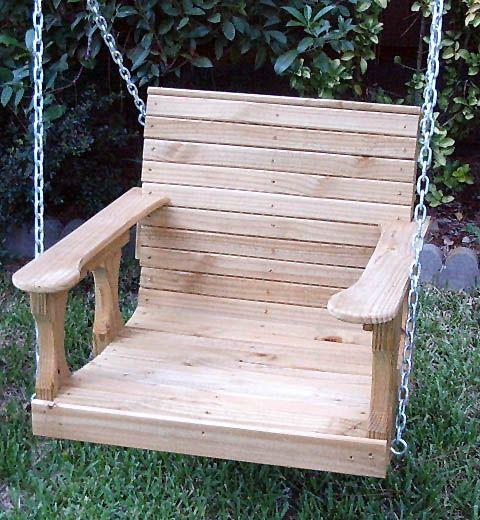 Landscape ideas pinterest swings for Garden swing seat plans