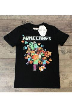 MineCraft Çocuk Tişört(7) 9-10 https://modasto.com/lucky-boy/erkek-cocuk/br86661ct138