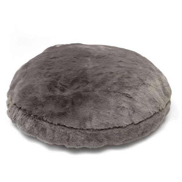 Nordstrom At Home Cuddle Up Large Faux Fur Pet Bed (u20ac125) ❤ Liked