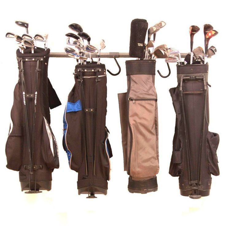 Monkey Bar Storage 6 Golf Bag Rack - 04006